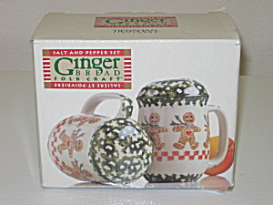 Tienshan Gingerbread Stovetop Salt Pepper Shaker Set (Image1)