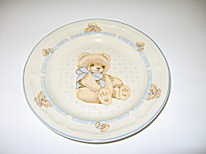 Tienshan Theodore Country Bear Salad Plate