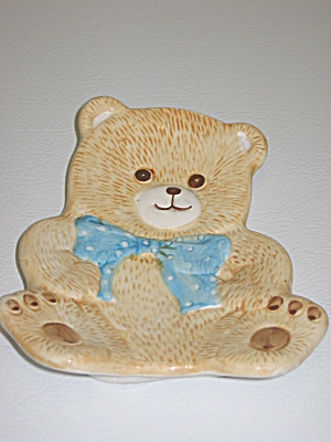 Tienshan Theodore Country Bear Soap Dish (Image1)