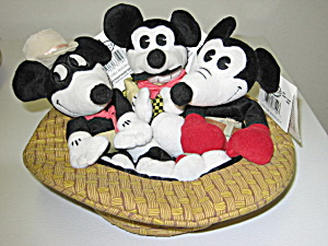 Disney Mickey Mouse Classic Comic Bean Bag Set