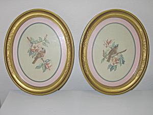 HOMCO Home Interiors 2 Framed Prints Kay Lamb Shannon HOMCO at