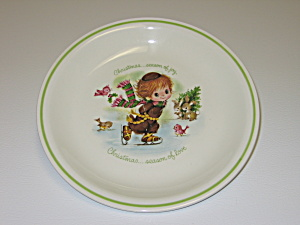 Little Folks Rust Craft Christmas Collector Plate