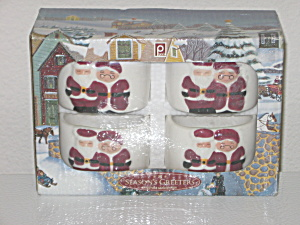The Seasons Greeters Christmas Napkin Rings Publix  NEW (Image1)
