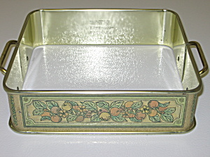 Pyrex 222 Decorative Carrier Holder With Handles