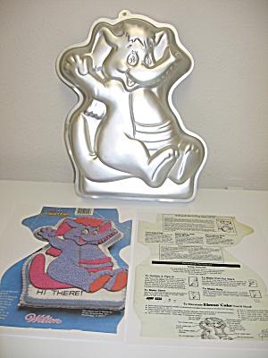 Wilton Disney Wuzzles Eleroo Elephant Cake Pan 1985 (Image1)