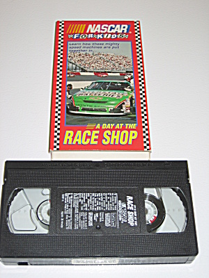 Nascar For Kids A Day At The Race Shop 1996 Vhs