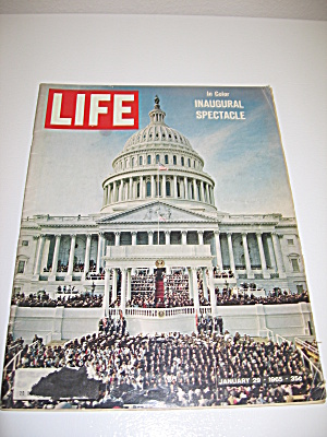 Life Magazine January 29 1965 Inaugural Spectacle