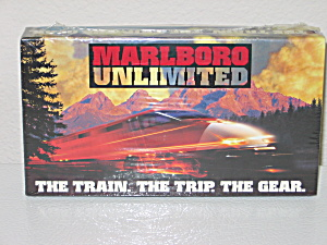 New Marlboro Unlimited 1995 VHS Tape Advertising (Image1)