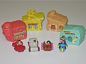 Mcdonalds Happy Meal Toys 1994 The Flintstones