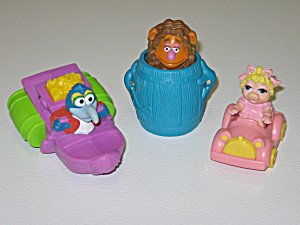 Mcdonalds Happy Meal Toys 1995 Muppet Treasure Island