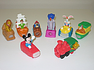 Mcdonalds Happy Meal Toys 1994 Disneyland Adventures