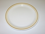 Click here to enlarge image and see more about item CDCCA02: Corning Corelle Almond Lunch Plate