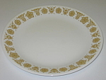 Click here to enlarge image and see more about item CDCCBG01: Corning Corelle Butterfly Gold Dinner Plate