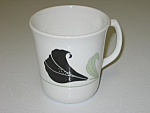 Click here to enlarge image and see more about item CDCCBO01: Corning Corelle Black Orchid Cup