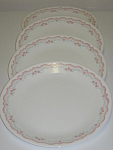 Corning Corelle Lorraine Set of 4 Dinner Plates