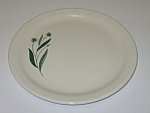 Click here to enlarge image and see more about item CDHLGF03: Homer Laughlin Green Field Best China Salad Plate