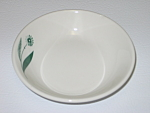 Click here to enlarge image and see more about item CDHLGF07: Homer Laughlin Green Field Best China Sauce Bowl