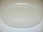 Click here to enlarge image and see more about item CDHW01: Heinrich H&Co Selb Bavaria White Oval Serving Platter