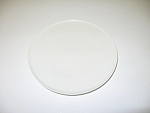 Click here to enlarge image and see more about item CDHW04: Heinrich H&Co Selb Bavaria Germany White Bread Plate