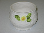 Click here to enlarge image and see more about item CDLRD02: Lefton Rustic Daisy Jam Jelly Jar NO LID