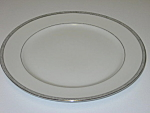 Click here to enlarge image and see more about item CDMB01: Mikasa Barclay 8258 Waldorf Shape Dinner Plate