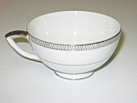 Click here to enlarge image and see more about item CDMB03: Mikasa China Barclay 8258 Waldorf Shape Cup