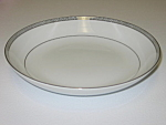 Click here to enlarge image and see more about item CDMB05: Mikasa China Barclay 8258 Waldorf Shape Soup Bowl