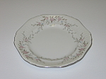 Click here to enlarge image and see more about item CDMBP02: Mikasa Fine China Blossoms Pink 8340 Bread Plate