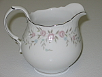 Click here to enlarge image and see more about item CDMBP08: Mikasa Fine China Blossoms Pink 8340 Creamer Pitcher
