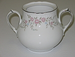 Click here to enlarge image and see more about item CDMBP09: Mikasa Fine China Blossoms Pink 8340 Sugar Bowl No Lid