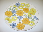 Mikasa Germany Field Blossoms W0004 Dinner Plate