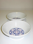 Click here to enlarge image and see more about item CDNPI03: Noritake Primastone Image 8315 Set of 2 Soup Bowls
