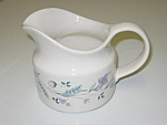 Click here to enlarge image and see more about item CDPAP01: Pfaltzgraff April Gravy Boat Pitcher