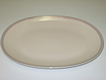 Click here to enlarge image and see more about item CDPA03: Pfaltzgraff Aura Oval Serving Platter