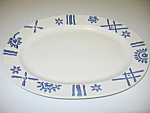 Pfaltzgraff Eddie Bauer Tile Border Serving Platter