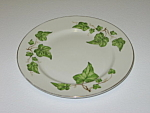 Click here to enlarge image and see more about item CDPGI02: Pencrest Fine China Green Ivy Bread Plate