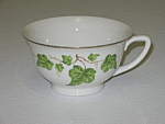 Click here to enlarge image and see more about item CDPGI06: Pencrest Fine China Greeny Ivy Cup