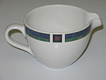 Click here to enlarge image and see more about item CDPPFA03: Pfaltzgraff Atalya by Pat Farrell Creamer Cream Pitcher