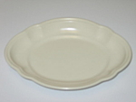 Pfaltzgraff Color Medley Buff Matte Oval Relish Tray