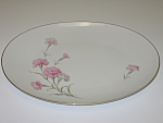 Click here to enlarge image and see more about item CDRCC01: Royal Court Carnation Large Oval Serving Platter