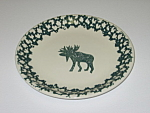 Click here to enlarge image and see more about item CDTMC01: Tienshan Folkcraft Moose Country Salad Plate