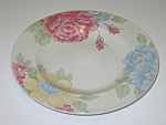 Click here to enlarge image and see more about item CDTPR02: Tienshan Prima Rosa 2208 Salad Plate