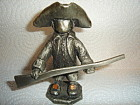Hudson Pewter Walli Boy with Rifle Figurine