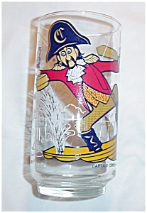 1977 McDonalds Captain Crook Glass (Image1)