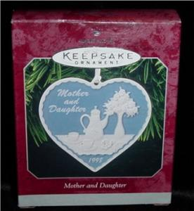 Mother and Daughter Hallmark Ornament (Image1)