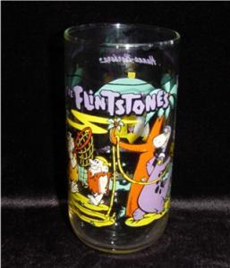Flinstone Drinking Glasss (Image1)
