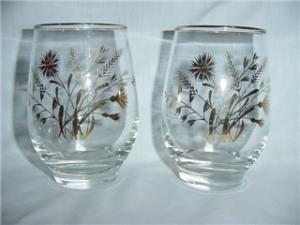 Libbey Flower & Wheat Glasses (Image1)