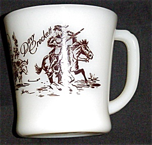 Fire King Davy Crockett Mug (Image1)