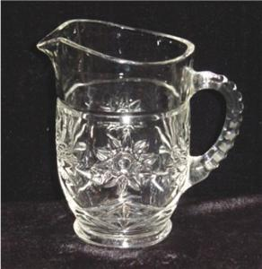 Early American Prescut Cream Pitcher