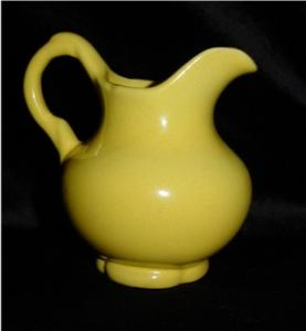 Frankoma Yellow Creamer (Image1)